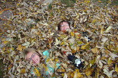 Fun in the leaves