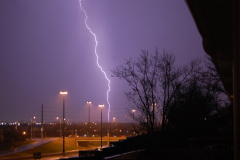 Lightening Strike in Peoria