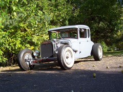 Tradition. History. '31 Ford Hot Rod.
