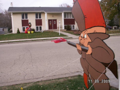 Elmer Fudd on Thanksgiving