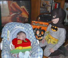brothers Batman and Robin