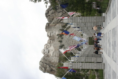 Mt. Rushmore and Avenue of the Flags