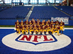 East Peoria JFL Varsity team at Colts