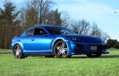 Winning Blue Mazda RX-8.......For Sale:(