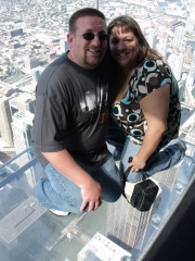 At the Skydeck @ Willis Tower