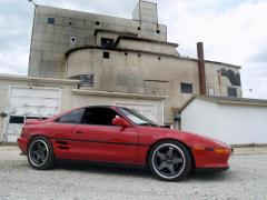 1991 Toyota mr2.  Nonturbo to turbo swap