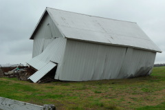 tornado hits barn near springlake