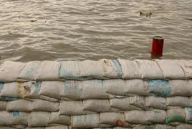 Sandbags  for Kingston Mines Residents